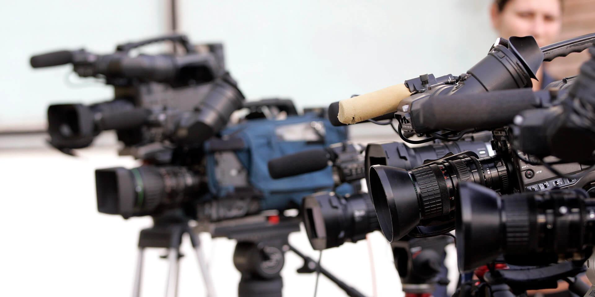 Fernsehkameras